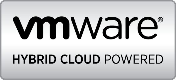 логотип VMware Hybrid Cloud Powered